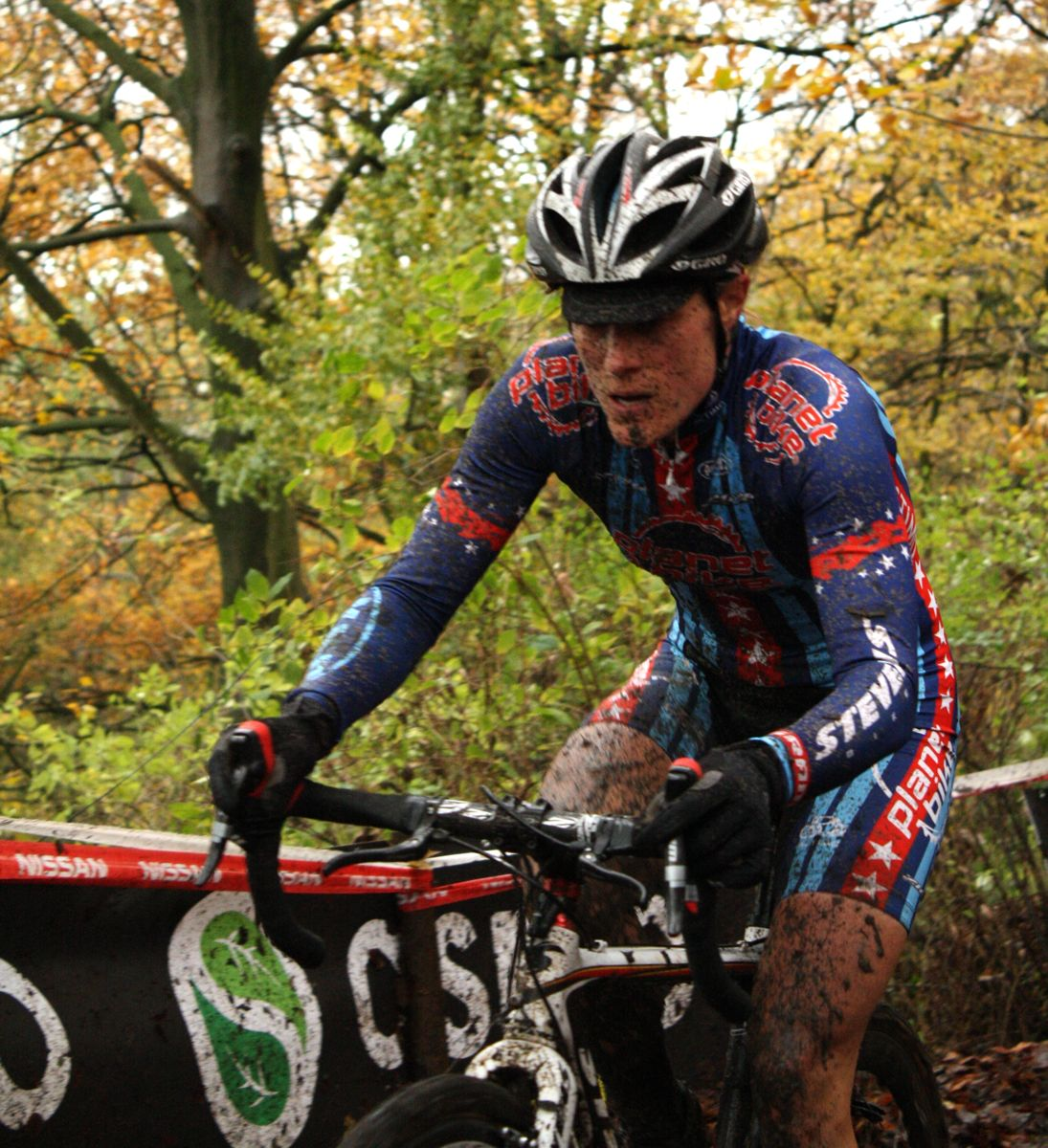 Compton conquered the mud today. ? Dan Seaton