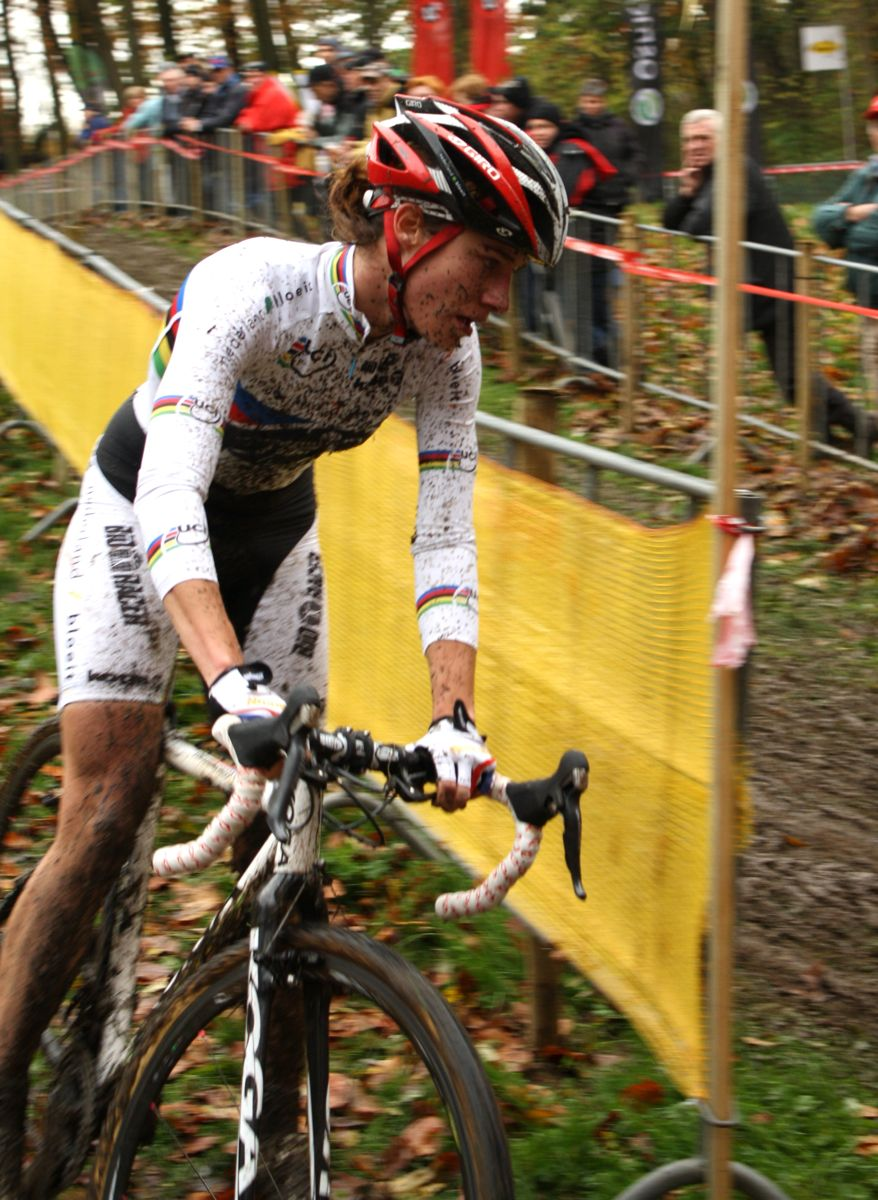 Vos heads back out on course. ? Dan Seaton