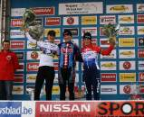 Vos, Compton & Van Den Brand shared the podium. ? Dan Seaton