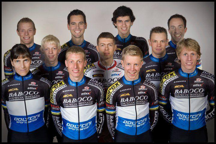 Babaco Cycling Team Photo. Photo Courtesy of Babaco Cycling Team