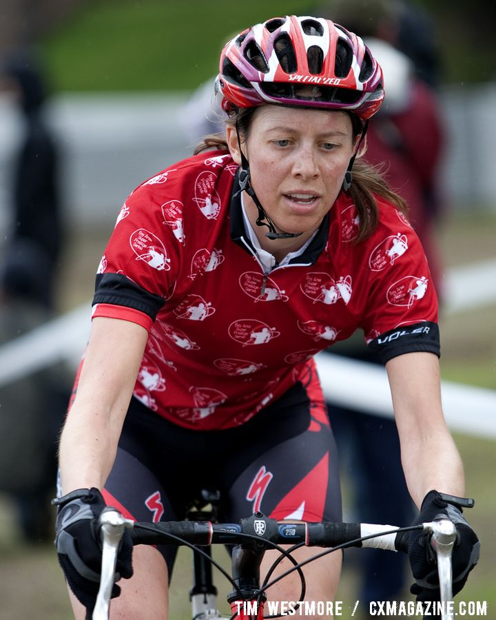 The women's B series winner. © Tim Westmore