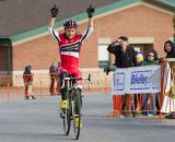 Anthony wins it! She has swept the 2012 Verge Series so far. © Todd Prekaski