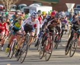 The sun lowered and temperatures dropped as the Elite Men's race began. © Todd Prekaski