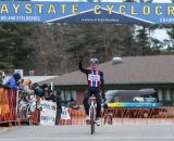 Jeremy Powers takes the win. © Todd Prekaski