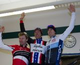 The Elite Men's podium: Milne, Powers, Durrin. © Todd Prekaski