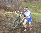 Junior series leader Evan McNeely. Baystate Cyclocross, Day 1. ? Paul Weiss