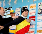 The elusive Belgian National Champion jersey if finally Albert's. ( SPRIMONT PRESS / Laurent Dubrule )