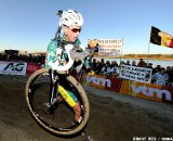 Sven Nys didn't have it today, and was far back during the 2011 Belgian Championship cyclo cross race in Antwerpen. Sunday Jan. 9, 2010. ( SPRIMONT PRESS / Laurent Dubrule )