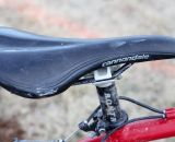 A Cannondale Synapse saddle and Bontrager zero offset seatpost are used. © Cyclocross Magazine