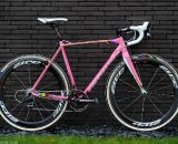 Zdenek Stybar's pink Specialized Crux cyclocross bike. ©Specialized