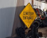 Cemetery Entrance at Bilenky Junkyard Cross. © Cyclocross Magazine
