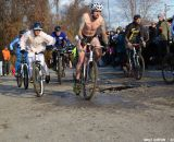 A little chilly at Bilenky Junkyard Cross. © Cyclocross Magazine