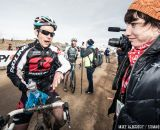 Cyclocross Magazine reporting in the Men's 30-34 race at National Championships 2014. © Mike Albright
