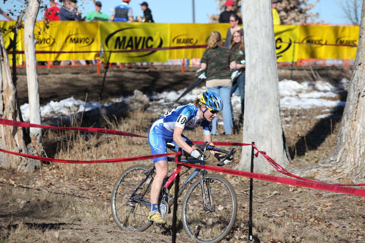 Alison Dunlap enjoying her return to top-tier UCI cyclocross racing. ? John Tannyhill