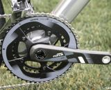 Boardman Bikes' picks a Force 50/34 compact crankset for wide-range, versatile gearing on the 9.0 and 9.2 models.  © Cyclocross Magazine