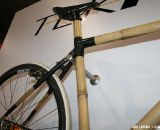 The bamboo tubes and carbon-wrapped joints give Boo bikes an unmistakable look. ©Cyclocross Magazine