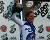 Compton with the Boulder Cup... at the Boulder Cup. © Jesse Pisel