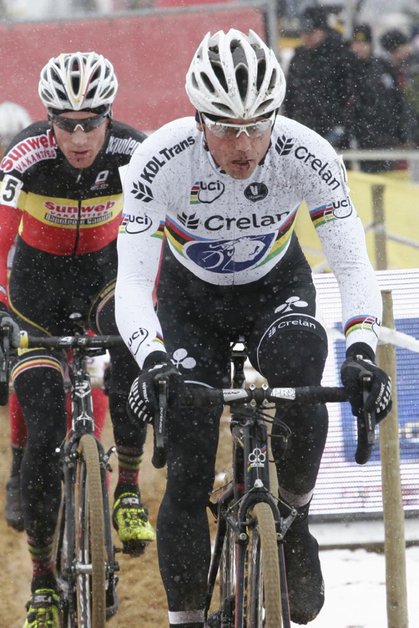 Sven Nys did not have the legs today © Bart Hazen