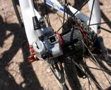 """The Kapplus rear hub has a 1.5 degree engagement meaning 240 point drive mechanism - quite """"ear"""" catching.  © Cyclocross Magazine"""