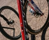 A contender for the biggest head tube around. © Cyclocross Magazine