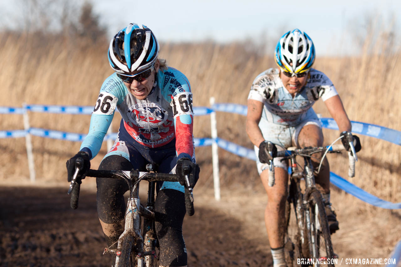 Flynn and Sone on the last lap.  ©Brian Nelson