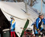 Fort Lewis College wins the best team tent award.  ©Brian Nelson
