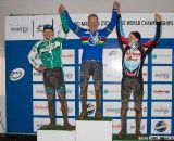 Elgart, Barnett and Wagner on the podium (65-69).  ©Brian Nelson