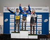 Ives, Ginley and Llmas (70-74) on the podium.  ©Brian Nelson