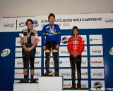 Savary, Heller and Ostenso on the podium.  ©Brian Nelson