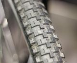 Bruce Gordon is bringing back the Rock 'n Road Tire, a smooth-rolling oversized 700c cyclocross tire. Bruce Gordon Cycles ©Cyclocross Magazine