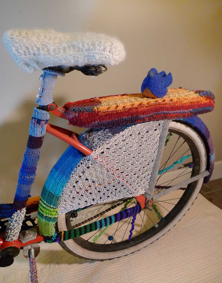 Everyone is going to be running crocheted fenders next year. ? Elise Jones
