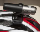 CatEye Volt 300 LED single beam bike headlight has indexed angle adjustments. © Cyclocross Magazine