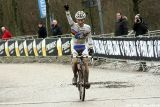 Lars van der Haar at Cauberg Cyclocross. © Bart Hazen