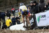 Nikki Harris at Cauberg Cyclocross. © Bart Hazen