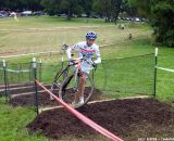 Wyman on the stairs.  © Cyclocross Magazine