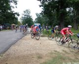 The Philadelphia Cyclocross School racers stuck together in the beginning.  © Cyclocross Magazine