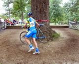 Van den Bosch around the tree. © Cyclocross Magazine