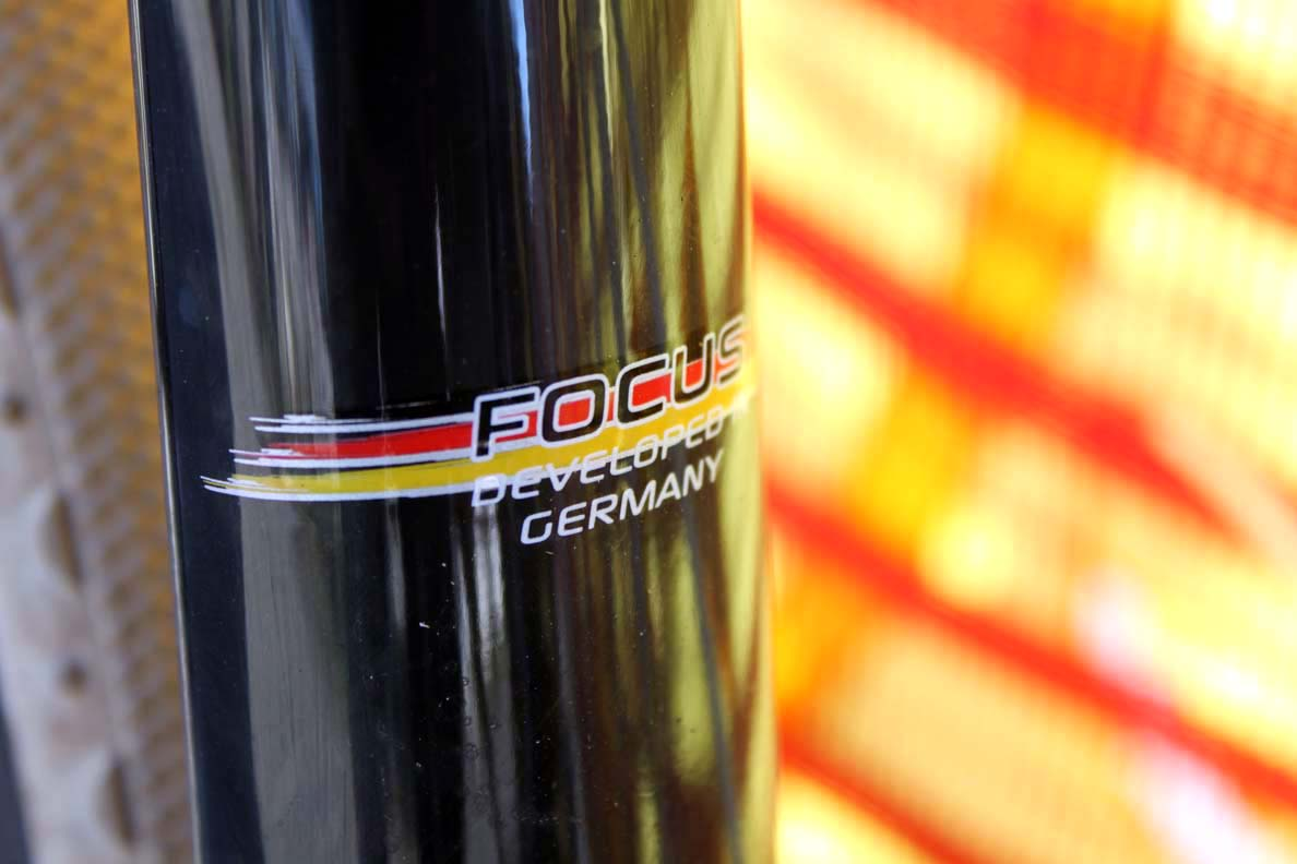 The Focus Mares was developed in Germany with input from Hank Kupfernagel. ? Cyclocross Magazine