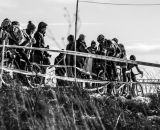 Spectators lined the course at the 2013 Cyclocross National Championships. © Chris Schmidt