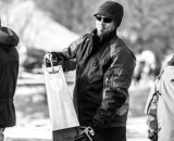 The man with the biggest cowbell at the 2013 Cyclocross National Championships. © Chris Schmidt