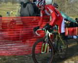 Denmark's Kenneth Hansen at Cincinnati Kings International Cyclocross. © Cyclocross Magazine