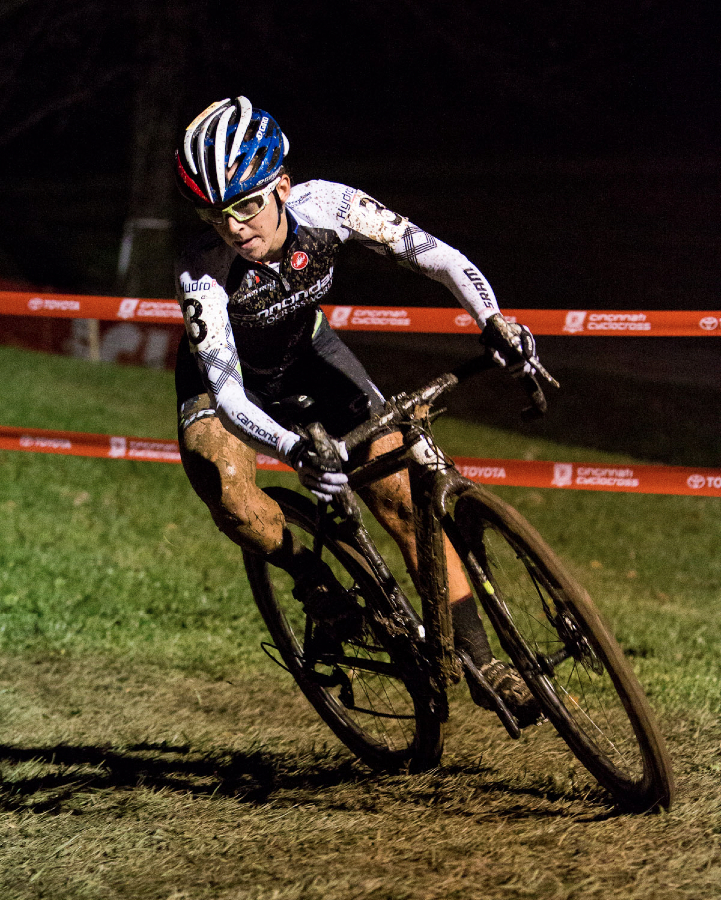 Kaitie Antonneau at Kings CX After Dark.
