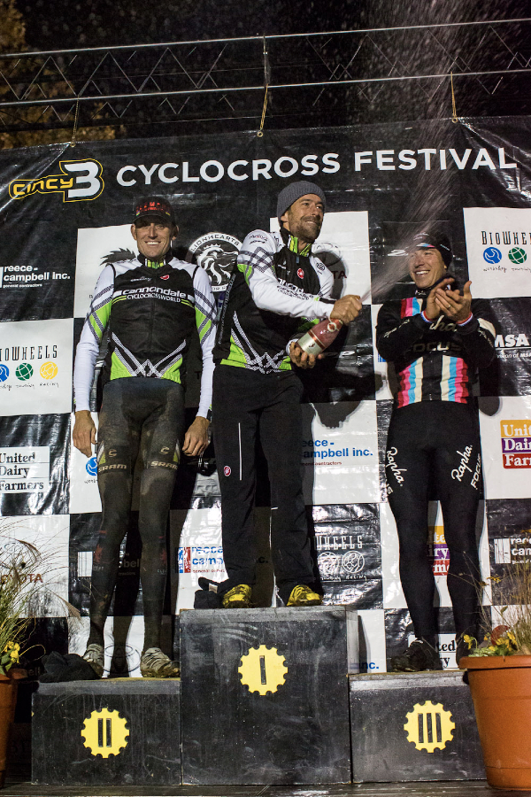 Johnson tops the podium at Kings CX After Dark.