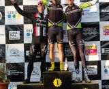 The Elite Men's podium. © Kent Baumgardt