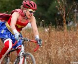 Wonder Woman was just one of many superheroes trying out cyclocross Sunday in Bend. ©Pat Malach