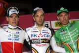 Men's podium. © Bart Hazen