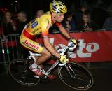 Sven Vanthourenhout finished seventh after the evening of races. ? Bart Hazen