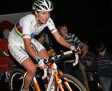 Vos wearing the jersey that she's claimed for another year. ? Bart Hazen