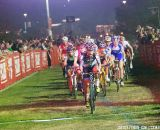 Mani snagging the holeshot at Cross Vegas 2013. © Cathy Fegan-Kim / Cyclocross Magazine