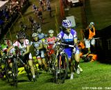 Nash takes the lead at Cross Vegas 2013. © Cathy Fegan-Kim / Cyclocross Magazine